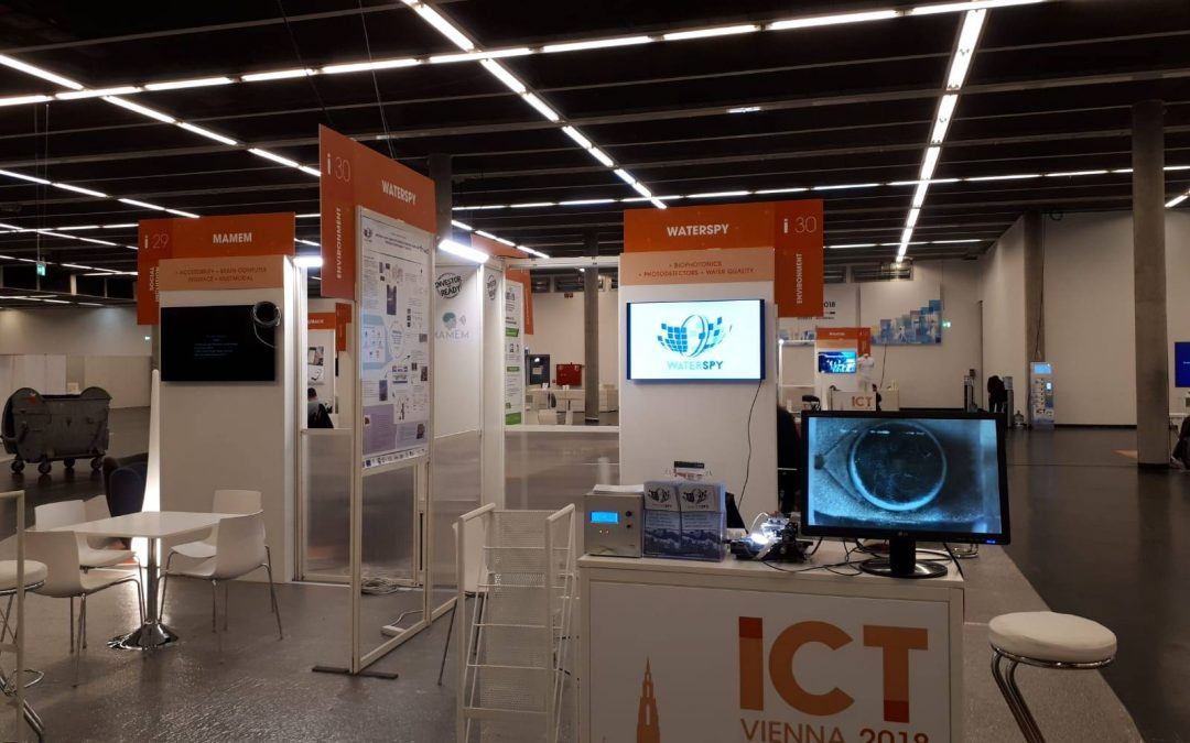 WaterSpy at the ICT 2018