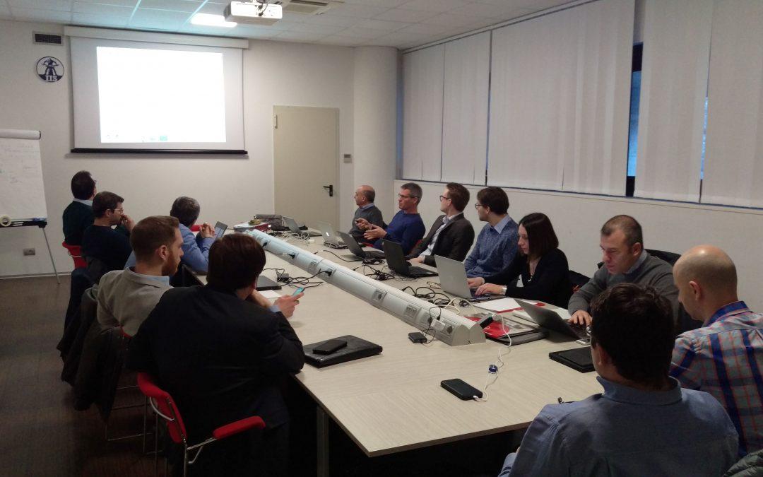 The WaterSpy 40th month meeting